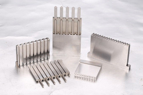SKH9 High Precision Mold Parts , Automotive Pwer Connector Mold Inserts
