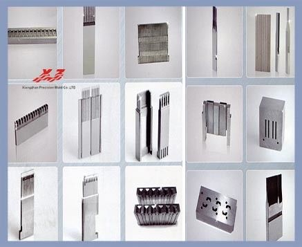 China Wire Cut Processing Connector Mold Parts Ra 0.44 Surface Roughness factory